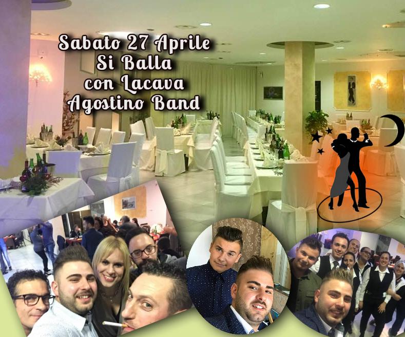 Sabato 27 Aprile ritorna Lacava Agostino Band