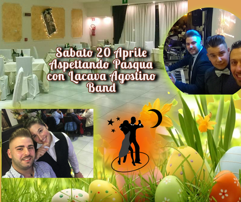 Aspettando Pasqua con Lacava Agostino Band all'Hotel Insteia