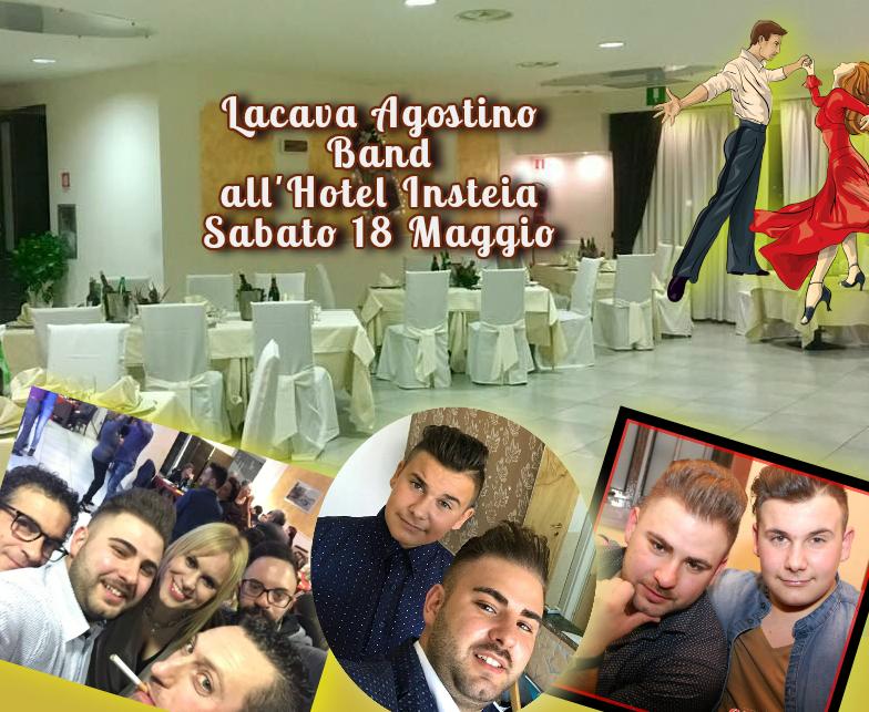 Sabato 18 Maggio si Balla con Lacava Agostino Band