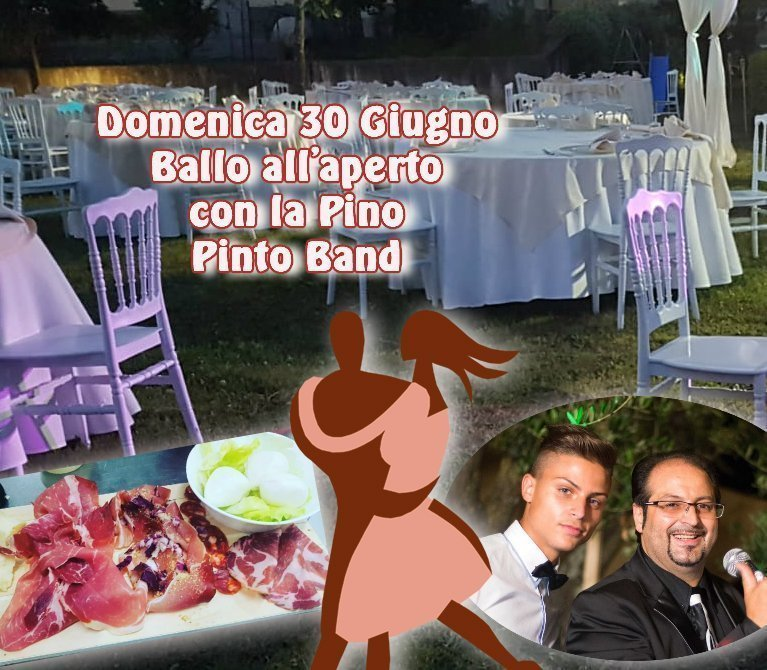 Domenica 30 Giugno si Balla con La Pino Pinto Band