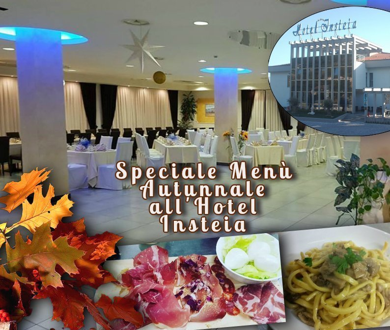 Speciale Menu Autunno all'Hotel Insteia